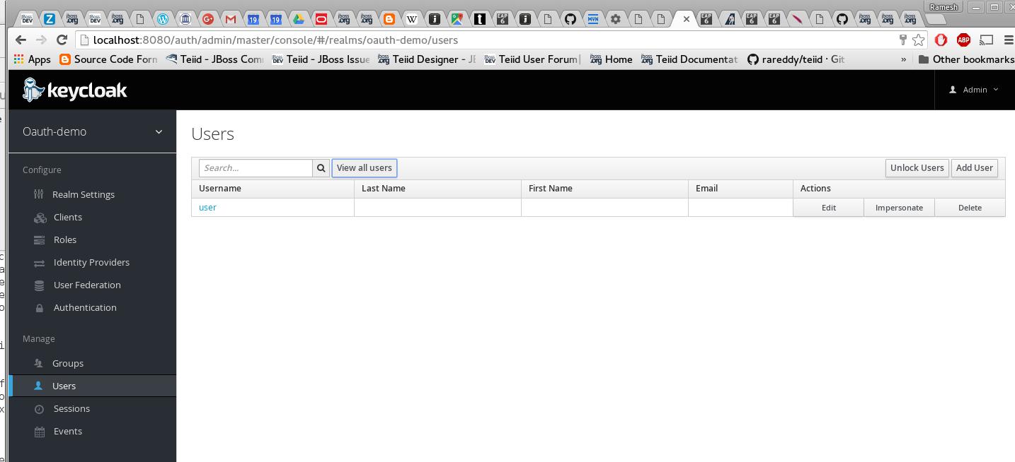 OAuth2 Based Security For OData Using KeyCloak · GitBook